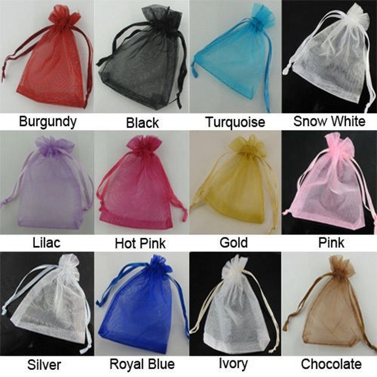 Organza Wedding Party Favor Decoration Gift Candy  Sheer Bags Pouches  #onlylove