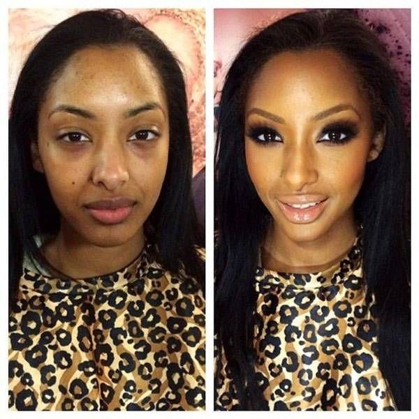 15 Fotos De Antes Y Después Que Demuestran El Poder Del Maquillaje