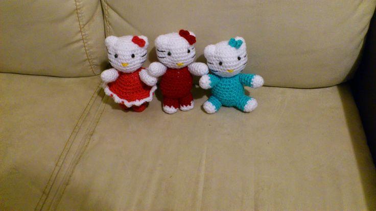 Patron De Hello Kitty En Amigurumi : PATRON DE KITTY CON VESTIDO (NOVEDADES JENPOALI AMIGURUMI ...
