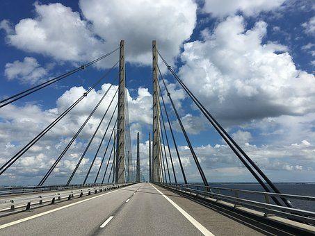 Brücke, Dänemark, Schweden, Öresund