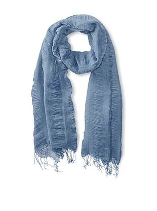 58% OFF Jules Smith Women's Ruched Scarf, Blue