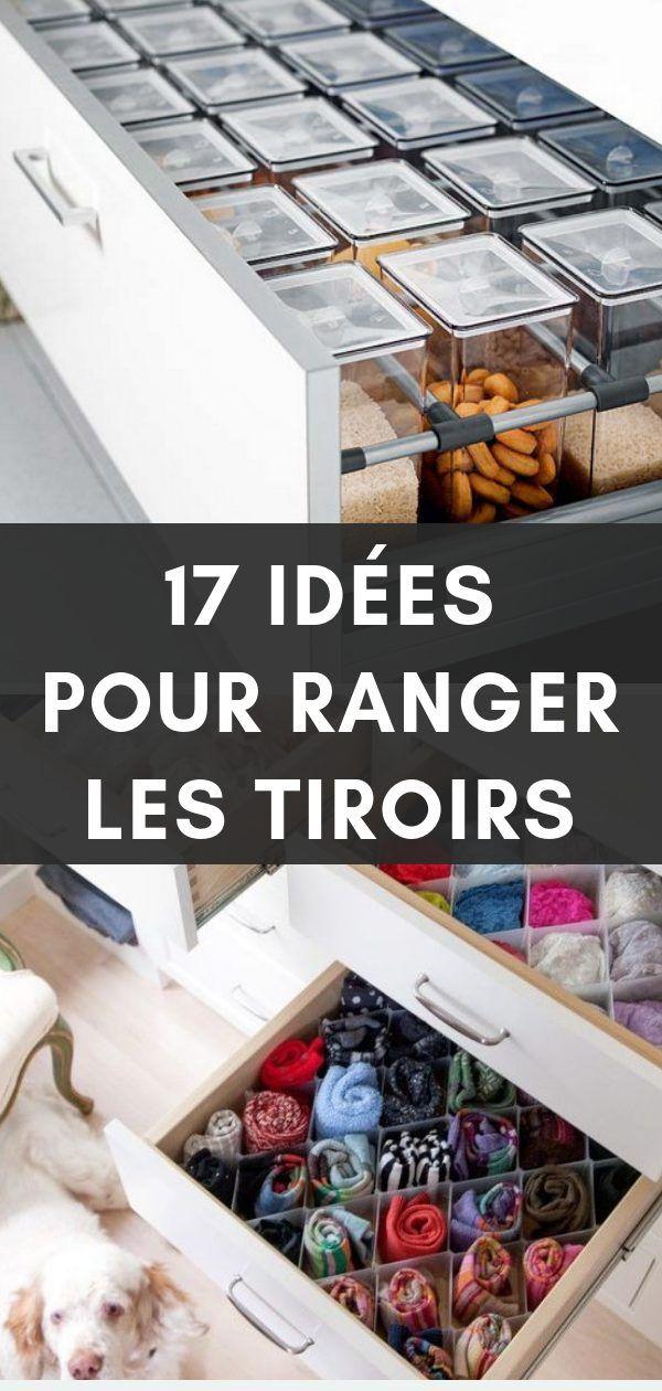 17 Idées à Copier pour Organiser et Ranger Vos Tiroirs ...