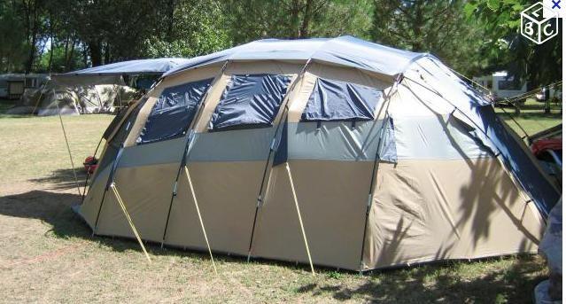 Tente camping GEO D6 MARECHAL