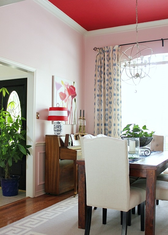 28 best red ceiling images on pinterest   painted ceilings, the