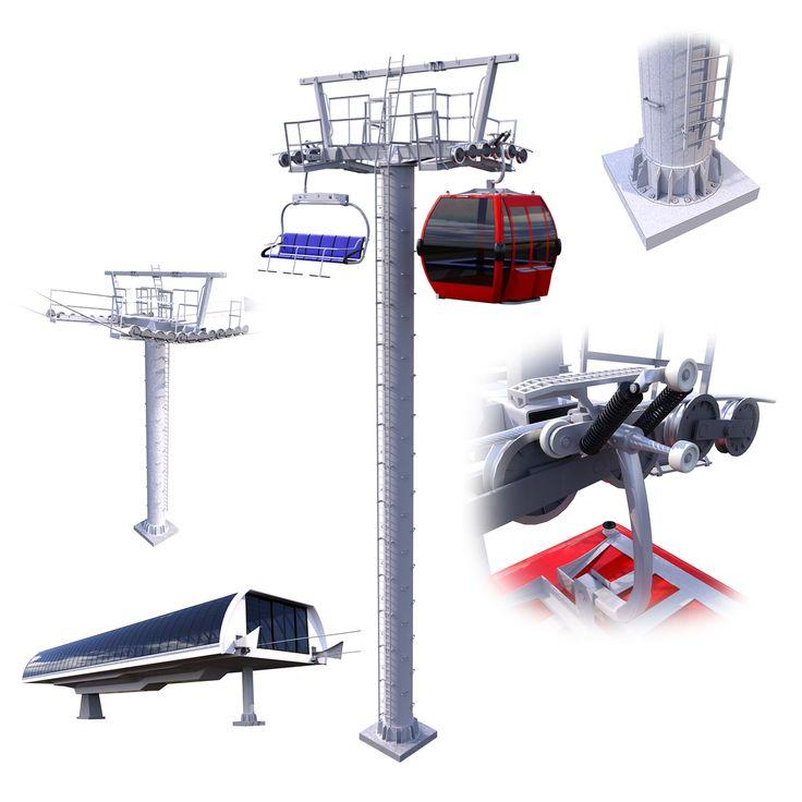 Ski Lift Cableway Car #aspen #bench #cabin #cable #cableway #cadlewagon #car #chairlift #equipment #lift #resort #ski #skiing #snow #sport #winter