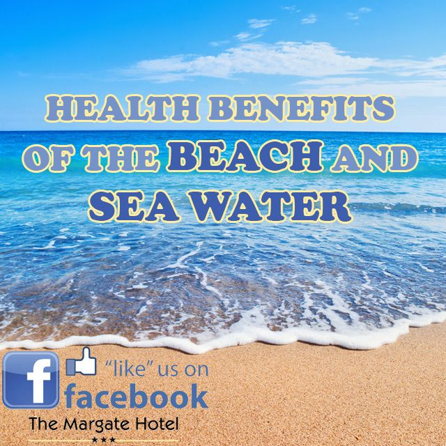 Top #health #benefits of the #beach and #seawater. Book your stay with us suzette@margatehotel.co.za | (039) 312-1410