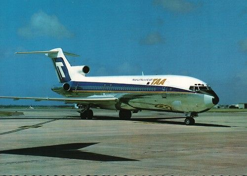 TAA Boeing 727 from Sydney to Melbourne New Years Day 1968