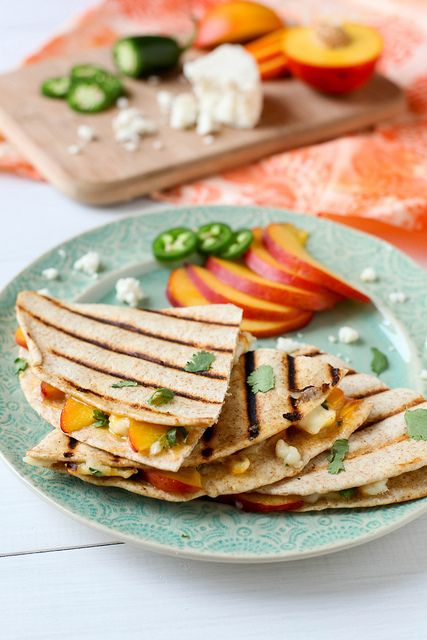 Summer Fruit Quesadillas by annieseats, via FlickrSummer Fruits, Fruit Quesadillas, Annie Eating, Cooking Sprays, Food, Annie'S Eating, Old Recipe, Annie S Eating, Fresh Fruit