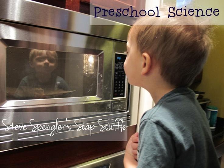 Preschool Science {Steve Spangler Soap Souffle}