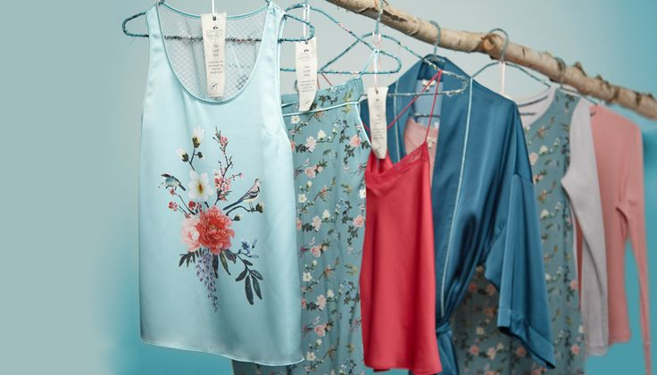 Carolyn's Eclectic loungewear spells vintage charm and old fashioned comfort with pretty florals and an Asian inspired print theme