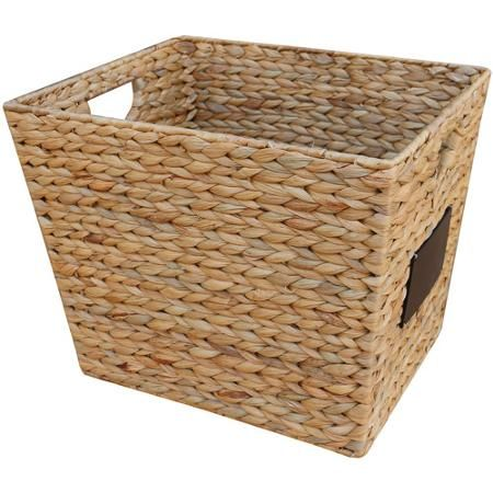 Better homes and gardens hyacinth cube basket things i 39 d love to own in 2019 for Better homes and gardens storage bins