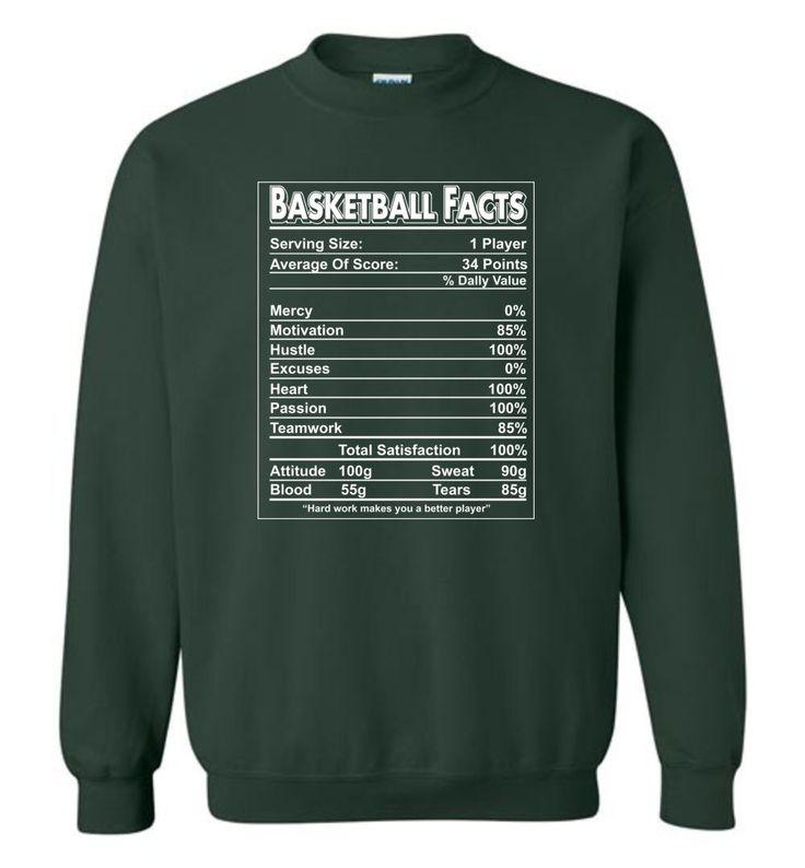 Basketball-Tatsachen-T-Shirt Basketball-Aufkleber lustig definieren für Spieler Sweatshirt   – Sports
