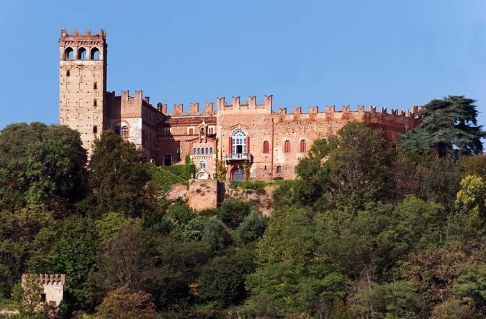 Castello di Camino, Asti, Piemonte.