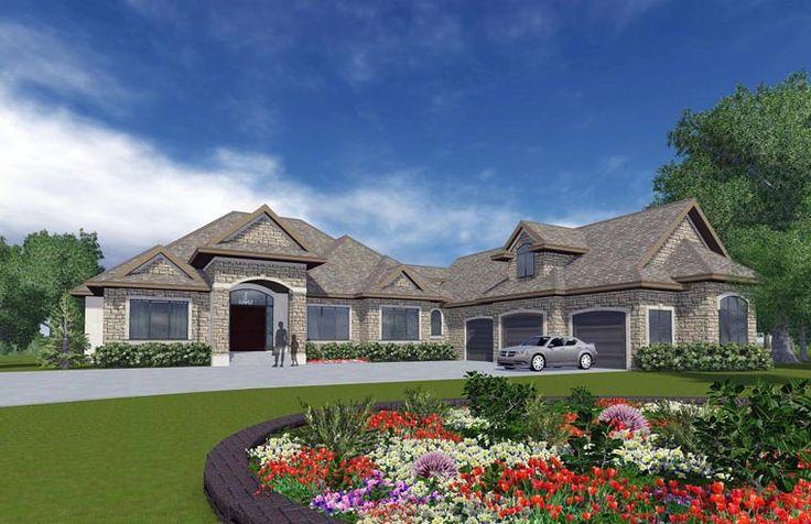 Craftsman European House Plan 81162 European House Plans
