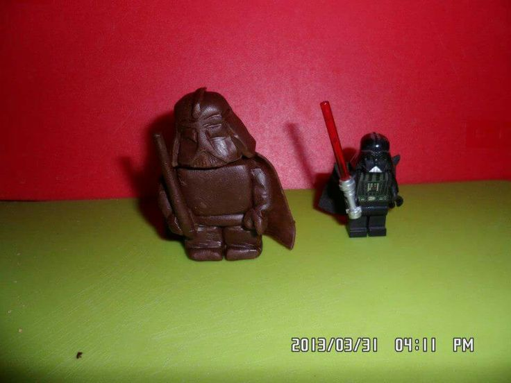 Darth Wader lego csokiból
