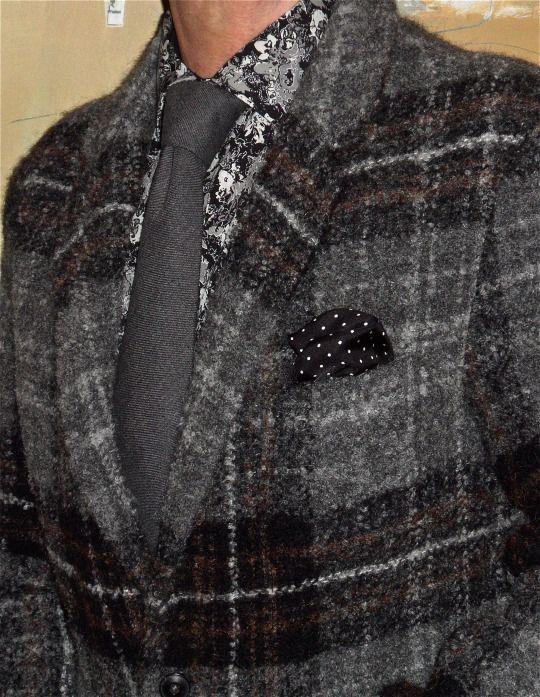 Studio Zara Man jacket, Mondo Marco shirt, Nino Castello wool tie… #ZaraMan…