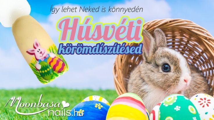 Húsvéti gél lakkos díszítés