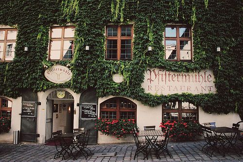 @ #munich Pfiftermuhle #restaurant #photo