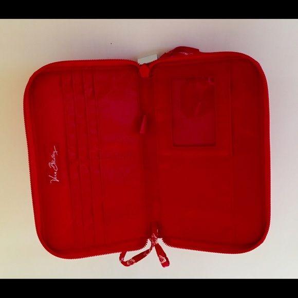 Vera Bradley Bags - Vera Bradley Retired NANTUCKET RED Wallet/Wristlet