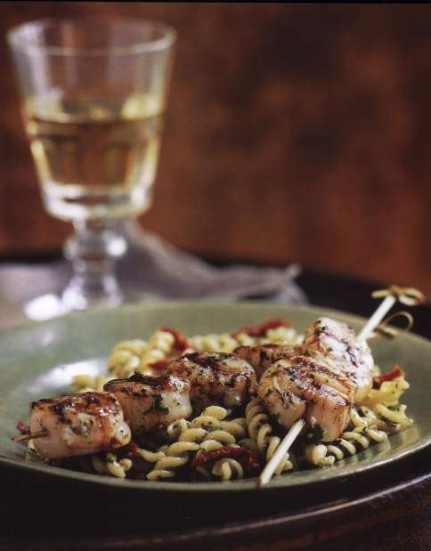 Scallops can be roasted, sauteed, poached or grilled. I like to grill ...