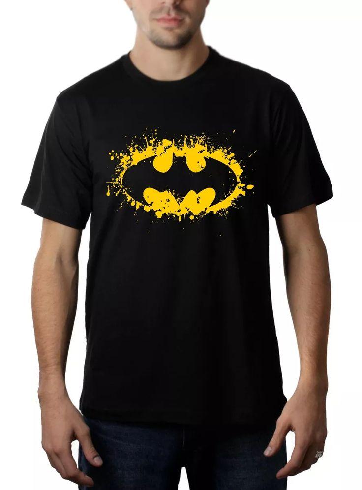 Camisa, Camiseta Heróis - Batman - Geeks / Nerds - R$ 29,90 em Mercado Livre