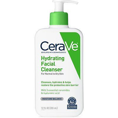 CeraVe Hydrating Face Cleanser Face Wash for Norma…