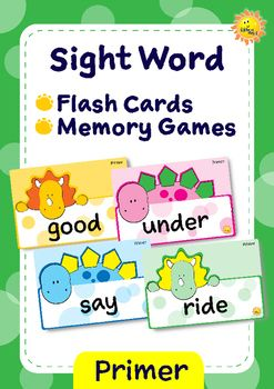 =====================================================NEW PRODUCT! On sale for 2 days only!=====================================================Teach Primer level sight words with flash cards. Reward your students with sticker or stamp when s/he can read a word.You can also use this flash cards for playing a memory game, by print them twice.This flash card set contains:~ 52 sight word cards, based on Dolch word list. ~ 2 sheets of stamp/sticker chart.
