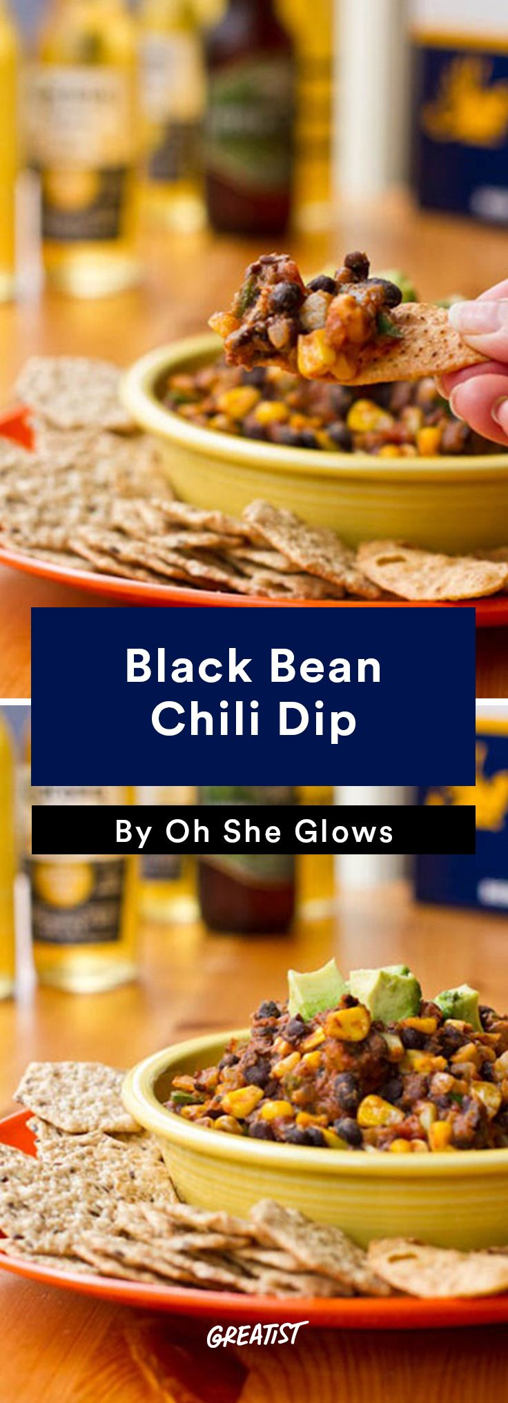 7. Black Bean Chili Dip #vegan #bowl #recipes http://greatist.com/eat/vegan-bowl-recipes-we-cant-get-enough-of