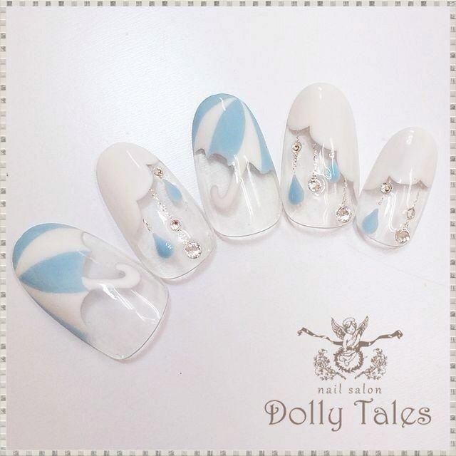 梅雨ネイル♪|ネイルサロンDolly Tales