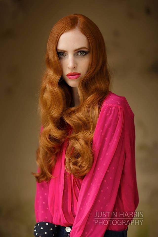 ©2013 JustinHarrisPhotography.co.uk Gorgeous bright hot pink lips to match blouse. #makeup #editorial #FarhanaHennaMUA www.farhana.co.uk