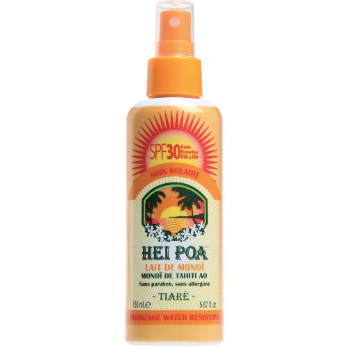 Hei Poa Monoi Oil SPF30 Tiare 150ml (Αντηλιακό Λάδι με 'Άρωμα Tiare)