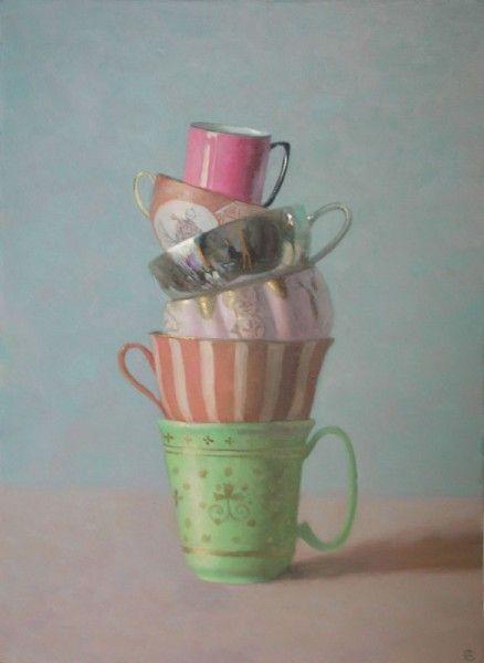 Olga Antonova, Russian born painter (b.1956).