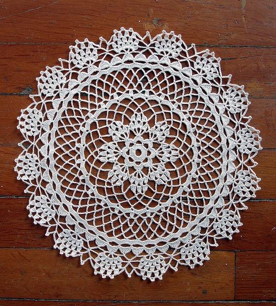 Love it - free doily pattern