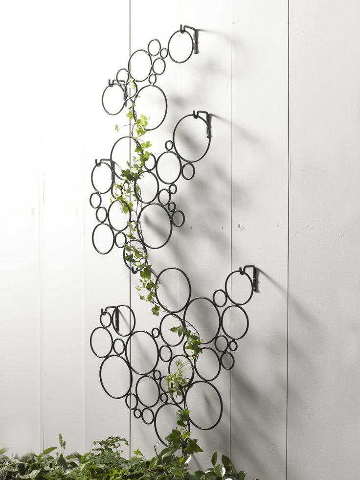 Metal Wall Trellis 250 best trellises images on pinterest   gardening, architecture