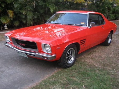 Dude...I want this car. (Too bad I don't live in Australia.) 1971 Holden HQ Monaro GTS