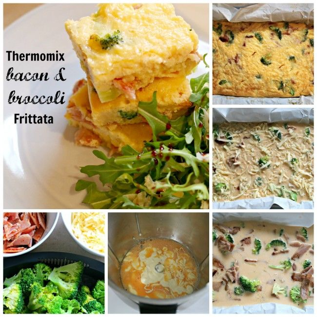 Mrs D plus 3 | Bacon and broccoli frittata | http://www.mrsdplus3.com
