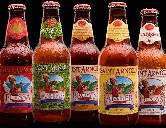 Sayings in the bottlecaps are an additional prize for drinking the beer.: Crafts Brewing Lov, Arnold Beer, Saint Arnold, Beer Group, Brewing Families, Arnold Brewing, Brewing Company, Texas Beer, Crafts Beer