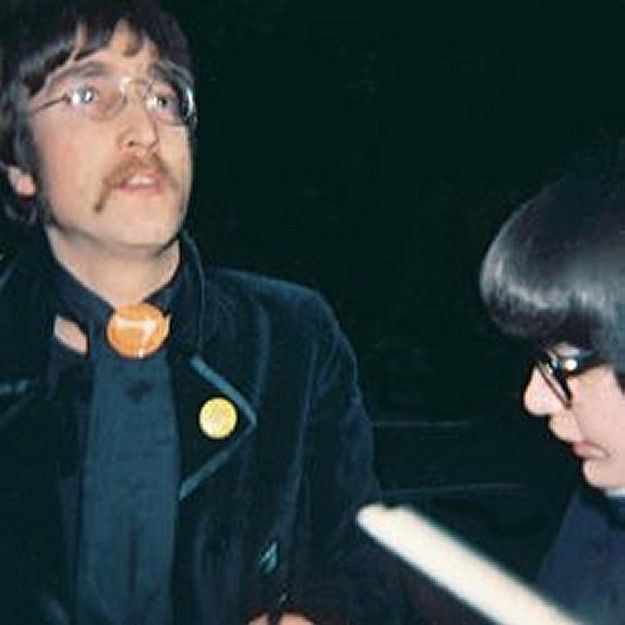 """John Arriving for mono mixing of A Day in the Life & to work on a Georges contribution to Sgt Pepper known on this day as """"Not Known"""" later titled """"Only a Northern Song"""" & not making the final cut.Sgt Pepper, 1967"""