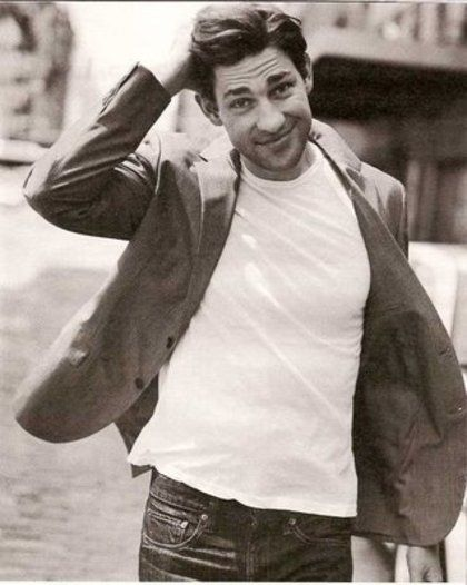 So cute! I love him! John Krasinski