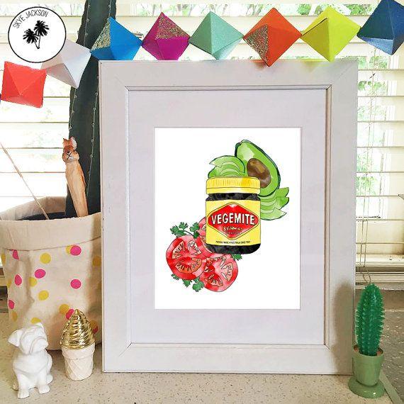 Vegemite avocado tomato healthy iconic australian food by SkyeJack