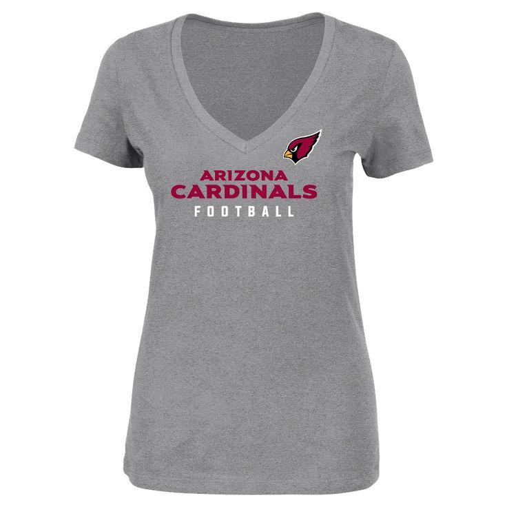 T-Shirt Arizona Cardinals Team Color Xxl, Women's, Multicolored