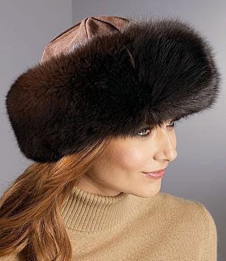Выкройка меховой шапки | WomaNew.ru - уроки кройки и шитья.