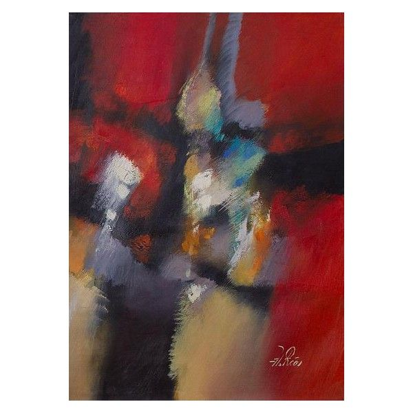 NOVICA Original Signed Abstract Diptych Painting in Oils from Peru (£360) ❤ liked on Polyvore featuring home, home decor, wall art, abstract paintings, paintings, spanish dancer painting, cloud painting, abstract wall art, wave wall art and canvas wall art