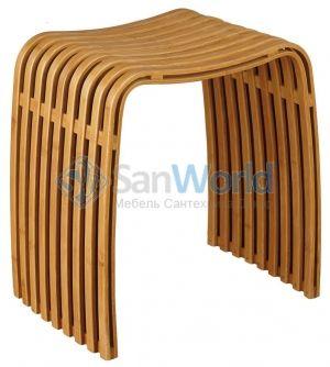 Fabian деревянный табурет для ванной Бамбуковый