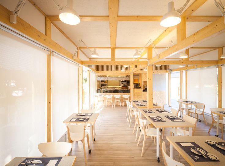 Gallery of NiGiRi Sushi and Restaurant / Junsekino Architect And Design - 2