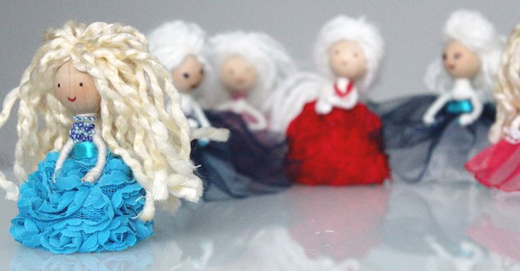 My first doll ornaments