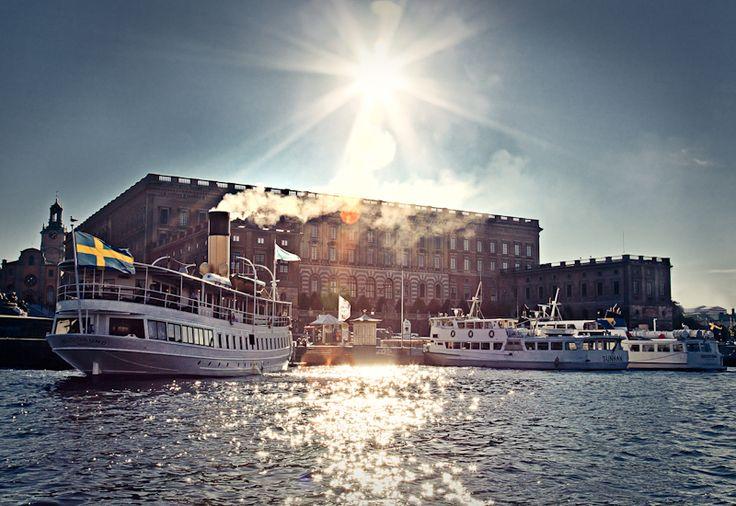 Stockholm Castle Summer