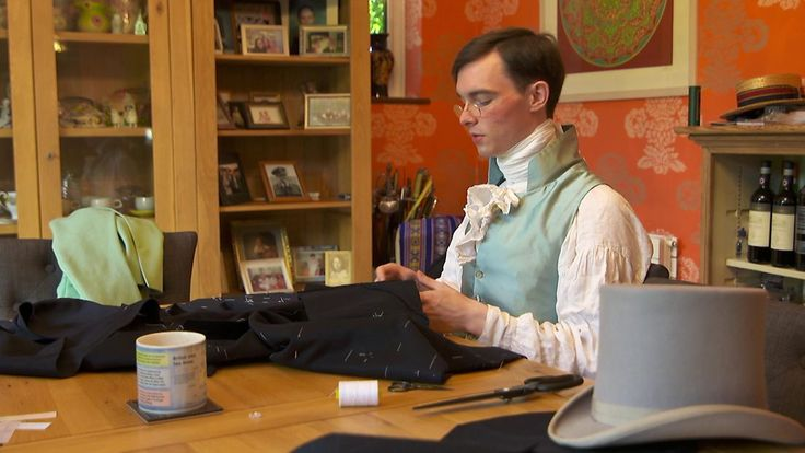 Tailor Zack Pinsent From Hove Specialises In Regency