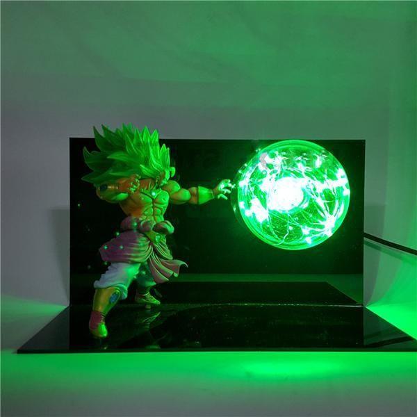 Lampe Dragon Ball Heroes Broly Ssj3 Dragon Ball Z Figurine Et