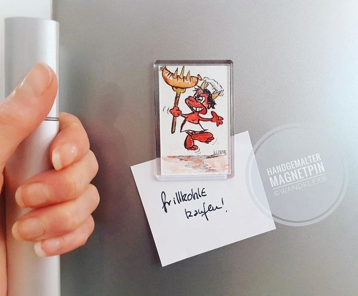Nicht nur für Teufels Küche...  (handgemaltes Original Einzelstück in Magnetpin gefasst 75x5cm Gesamtgröße noch zu haben.) .  #wandklex #malerei #handgemalt #aquarell #hahnemühle #kunst #art #watercolor #watercolour #devil #teufelchen #teufel #teufelsküche #magnet #magnetpin #fridge #etsy #magnettafel #magnetic #küche #kitchen #kühlschrank #kühlschrankmagnet #handmade  Verwendetes Material schmincke Künstlerfarben Horadam auf @hahnemuehle Britannia 300g rauh Motivlizenz erworben via @fotolia…